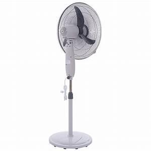20 U0026quot Adjustable Oscillating Pedestal Fan Stand Floor 3 Speed