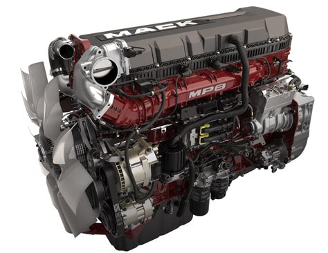 Mp8 Semi Truck Engine  Mack Trucks