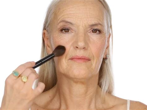 Going Glam Ma Makeup Tutorial For Senior Citizens Goes Viral Today Com