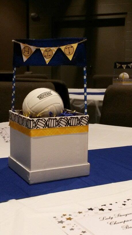 volleyball centerpiece volleyball pinterest ea