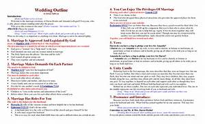 best photos of wedding ceremony program outline sample With christian wedding ceremony outline