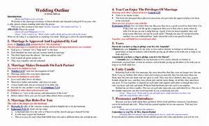 Best photos of wedding ceremony program outline sample for Christian wedding ceremony outline