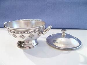 Villeroy Boch Schale : rar edle alte v b deckel schale villeroy boch metall kaviar dose ~ Watch28wear.com Haus und Dekorationen