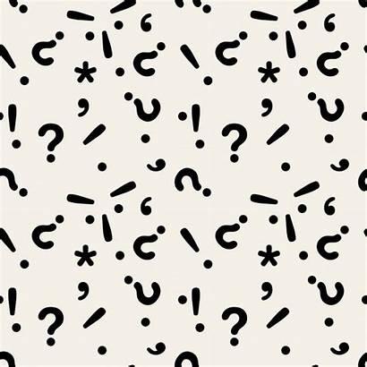 Mark Question Pattern Vector Exclamation Vectors Freepik