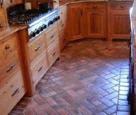 brick pavers for kitchen floors interior spaces brick pavers bricks and