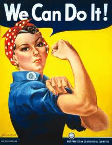 "Vintage Image of the ""We Can Do It!"" Rosie the Riveter"