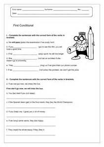 worksheet verbs 176 free conditional worksheets