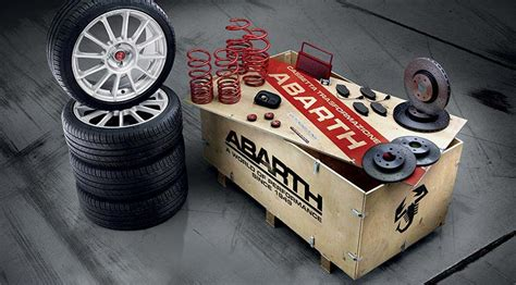 abarth car tuning kits performance  transformation