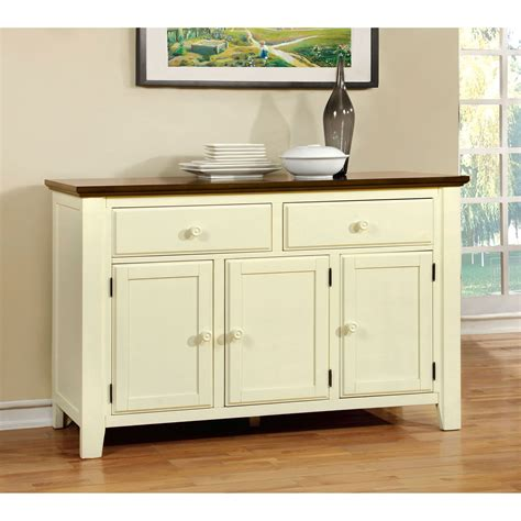 Servers Buffets Sideboards by Furniture Of America Besette Cottage Dining Server