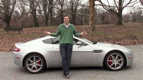 Aston Martin V8 Vantage: The Weird Quirks - YouTube