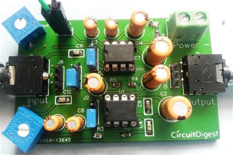 Audio Amplifier With Bluetooth Circuit Diagram