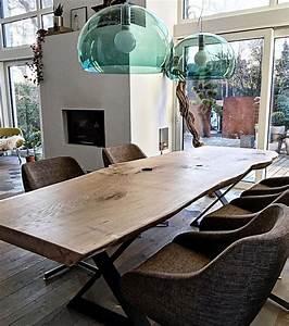 Holztisch Massiv Esszimmer : die 25 besten ideen zu holztisch auf pinterest esstisch eiche esszimmertisch holz und ~ Indierocktalk.com Haus und Dekorationen