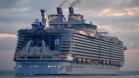 el barco mas grande del mundo realizara su primer viaje