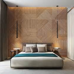 bedroom wall ideas 20 modern and creative bedroom design featuring wooden panel wall home design and interior