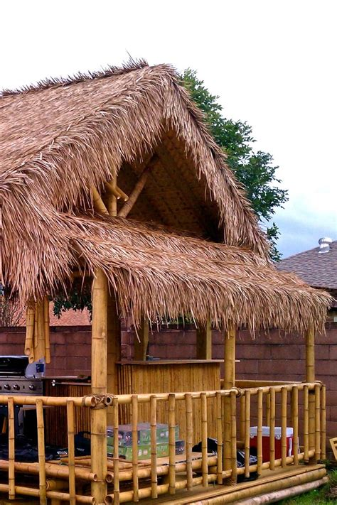 Palm Tiki by Awesome Diy Tiki Hut With Palm Thatch Tickled By Tiki
