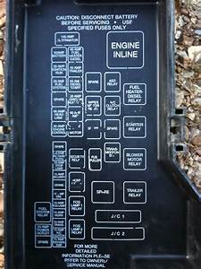 2002 Dodge Ram Fuse Panel Diagram