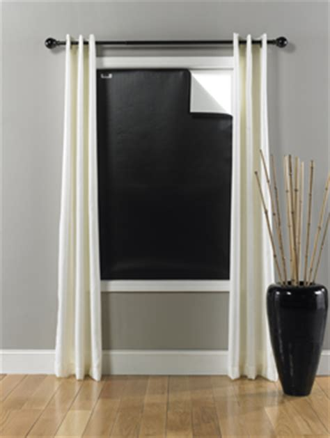 Window Cover For Home by Blackout Ez Window Cover L Large 45 X 66 L Black White L