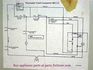 Thermador Trash Compactor Wcc22 Schematic Diagram
