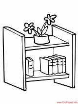 Coloring Bookshelf Colouring Sheet Title Coloringpagesfree sketch template