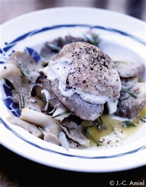 cuisson des pleurotes recette de cuisine crostino aux pleurotes pour 4 personnes recettes à