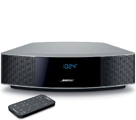 bose wave zubehör bose wave radio iv with top touch page 1 qvc