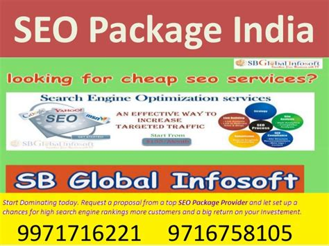 Seo Provider by Seo Package Provider India