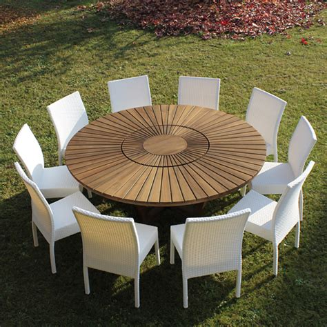 table ronde jardin table exterieur design maisonjoffrois