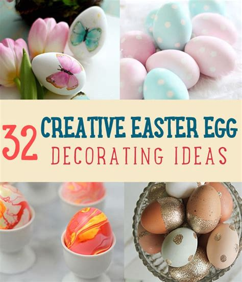 creative easter egg ideas 32 creative easter egg decorating ideas anyone can make diy projects do it yourself projects and
