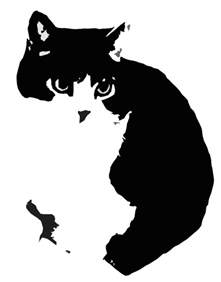 cat stencil stencil by jrbonnington on deviantart
