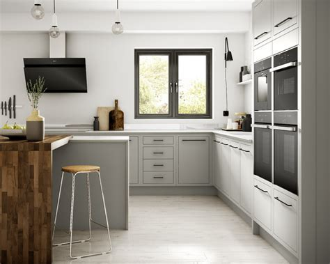 Radley Dove Grey   Contemporary   Kitchen   Other   by Wickes