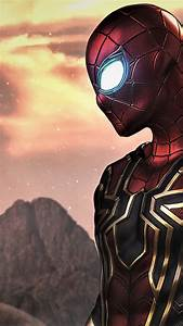 wallpaper spider far from home poster 4k 21158