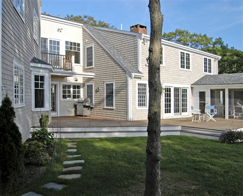 Classic Cape Cod Addition And Renovation  Melinda Kelson