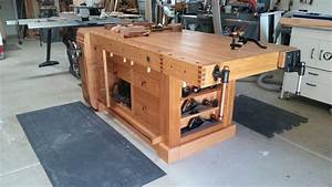 Mark's Shaker Workbench - The Wood Whisperer