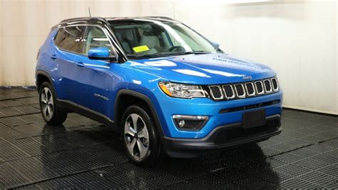 Compass Latitude 2018 by New 2018 Jeep Compass Latitude Sport Utility In Braintree