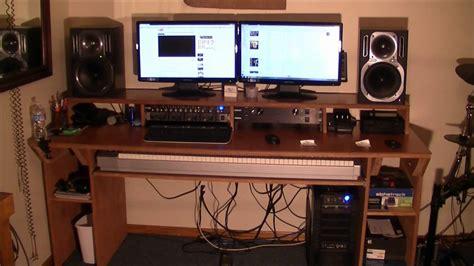 recording studio desk plans download music studio desk plans pdf mixing desk