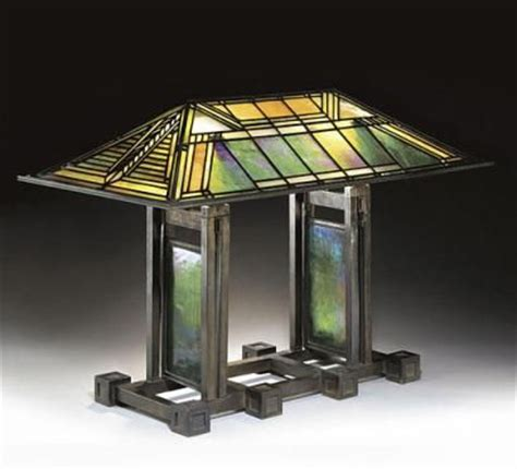 frank lloyd wright table lamp plans woodworking projects