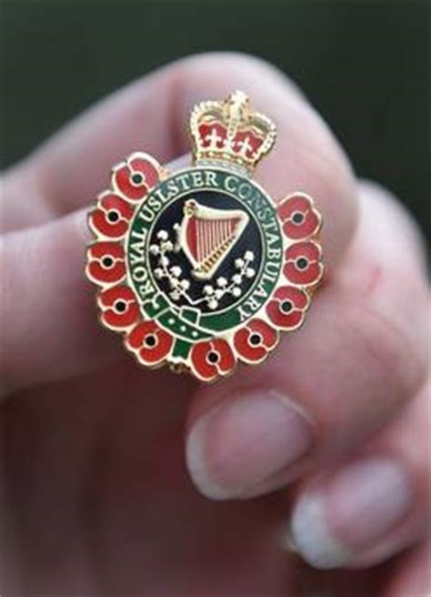 british legions uslster blooper  ruc badges belfasttelegraphcouk