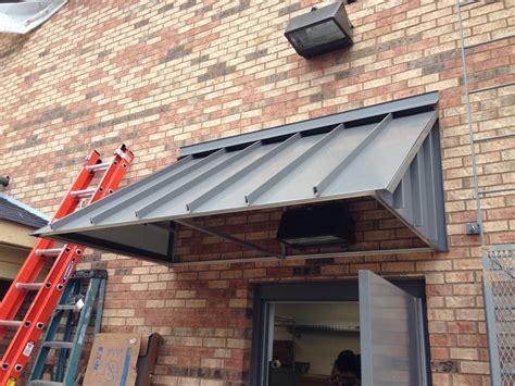 elite awnings standing seam corrugated metal awnings