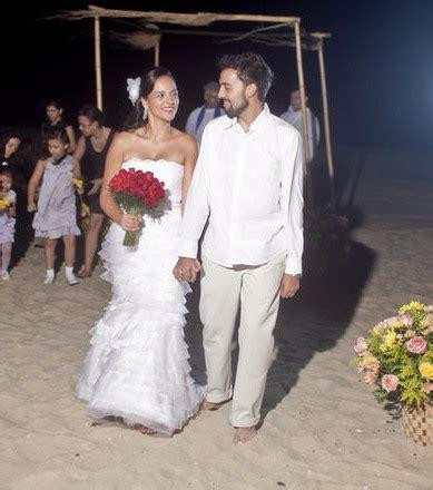 photo au bresil place  la robe decollete  au mariage