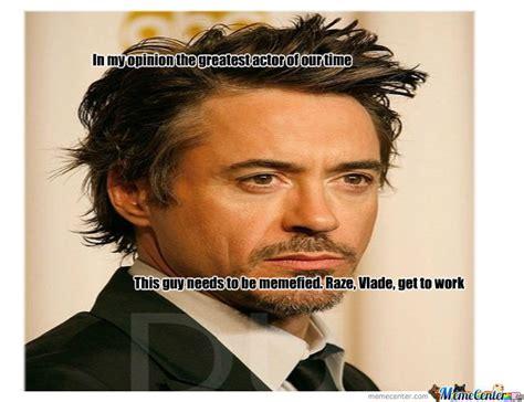 Robert Downey Meme - robert downey jr for meme by xavi meme center