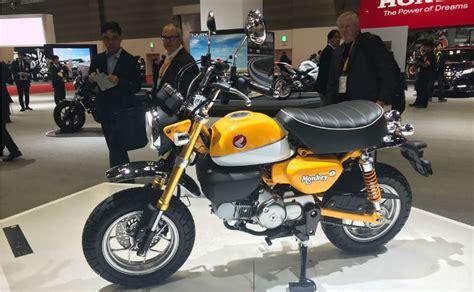 honda monkey 2018 honda announces new honda monkey bike 2018
