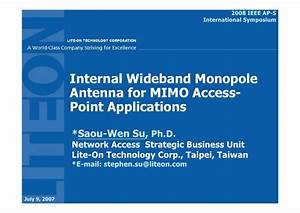 2008 IEEE AP-S-Internal Wideband Monopole Antenna For MIMO ...