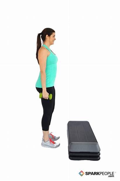 Step Exercise Exercises Ups Aerobic Leg Sparkpeople