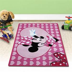 Minnie Mouse Teppich : disney minnie kinder teppich m dchen rosa kinderzimmer 133x95cm spielteppich ebay ~ Indierocktalk.com Haus und Dekorationen