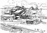 Coal Mine Clipart Etc Tiff sketch template