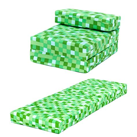 Folding Foam Chair Bed Child by Green Pixels Single Chair Bed Sofa Z Bed Seat Foam