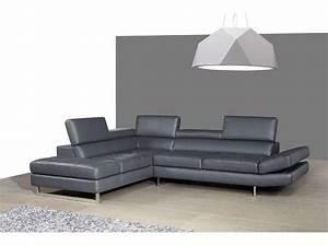 Canape Angle Cuir Conforama : canape cuir beige conforama ~ Teatrodelosmanantiales.com Idées de Décoration