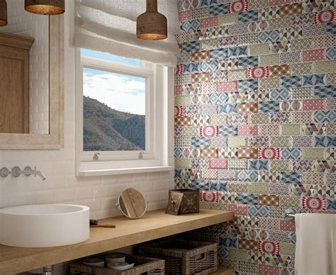 la cuisine du comptoir carrelage mural 7 5x15 metro patchwork equipe ceramicas 7