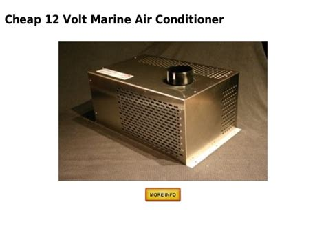12 Volt Boat Air Conditioner by 12 Volt Marine Air Conditioner