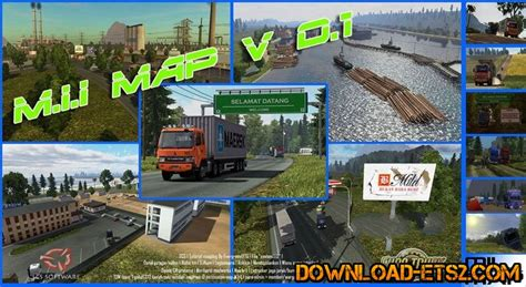 mii map  indonesia  ets mods scs mods